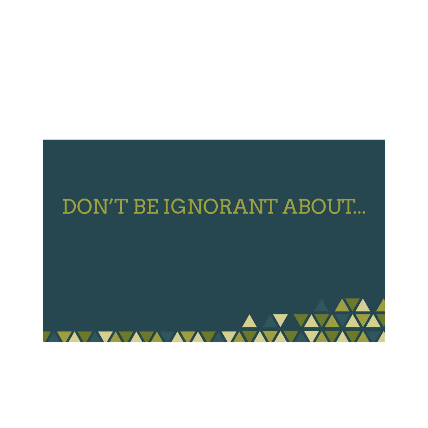 """""""Don't Be Ignorant About…Schemes of Satan (Forgiveness)"""""""